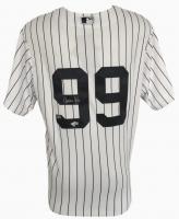 Aaron Judge Signed New York Yankees Majestic Cool Base Jersey (Fanatics & MLB Hologram)