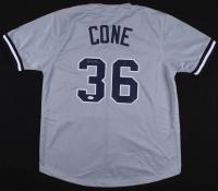 David Cone Signed New York Yankees Jersey (JSA COA)