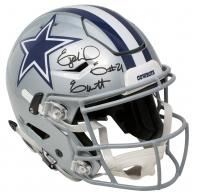 Ezekiel Elliott Signed Dallas Cowboys Full-Size Authentic On-Field Riddell Speedflex Helmet (Beckett COA)