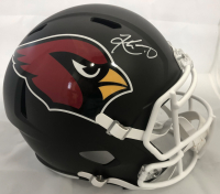Kyler Murray Signed Arizona Cardinals Full-Size Matte Black Speed Helmet (Beckett COA)