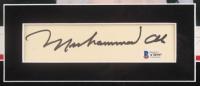 Muhammad Ali & George Foreman Signed 26.5x30.5 Custom Framed Cut Display (Beckett LOA & JSA COA) at PristineAuction.com
