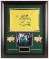 "Arnold Palmer & Jack Nicklaus Signed ""The Masters"" 29x35 Custom Framed Pin Flag Display (JSA LOA) at PristineAuction.com"