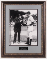 George H. W. Bush Signed Yale Bulldogs 24.25x30.25 Custom Framed Photo Display (JSA LOA) at PristineAuction.com
