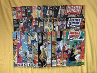 Near Complete Set of (69/73) 1989-1994 Justice League Europe DC Comic Books at PristineAuction.com