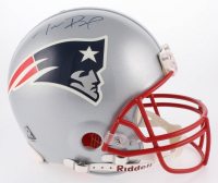 Tom Brady Signed LE New England Patriots Full-Size Authentic On-Field Helmet (Mounted Memories Hologram)