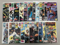 Lot of (37) 1990-1991 Marvel Presents Comic Books with Issues #48-#50, #54-#79, & #85-#92