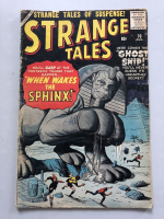 "1959 ""Strange Tales"" #70 Marvel Comic Book at PristineAuction.com"