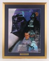 Vintage 1977 Coca Cola Star Wars 24x30 Custom Framed Poster Display