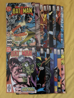 "Lot of (16) 1985-87 ""Batman"" DC Comic Books at PristineAuction.com"