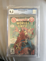 "1982 ""World's Finest"" #276 White Pages DC Comic Book (CGC 9.2)"