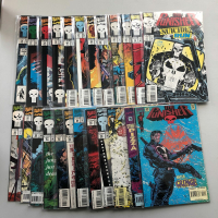 """Lot of (24) 1993-95 """"The Punisher"""" Marvel Comic Books"""