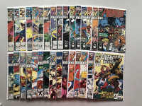 "Lot of (41) 1989-94 ""Avengers West Coast"" Marvel Comic Books at PristineAuction.com"