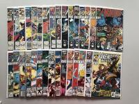 "Lot of (41) 1989-94 ""Avengers West Coast"" Marvel Comic Books"