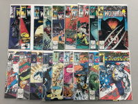 "Lot of (36) 1988-90 ""Marvel Presents"" Marvel Comic Books at PristineAuction.com"