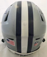 Amari Cooper & Ezekiel Elliott Signed Dallas Cowboys Full-Size Authentic On-Field Speedflex Helmet (Beckett COA) at PristineAuction.com