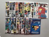 "Lot of (43) 1987-2008 Annual ""Superman"" 2nd Series DC Comic Books"
