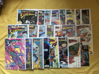 "Lot of (23) 1980-86 ""Superman"" 1st Series DC Comic Books"