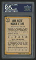 1968 Topps #177 Rookie Stars Jerry Koosman RC / Nolan Ryan RC (PSA 5) at PristineAuction.com