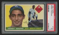 1955 Topps #123 Sandy Koufax RC (PSA 5)