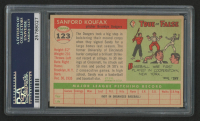 1955 Topps #123 Sandy Koufax RC (PSA 5) at PristineAuction.com