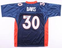 Terrell Davis Signed Denver Broncos Jersey with Super Bowl XXXII Patch (Beckett COA)