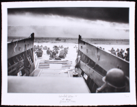 """Historical Photo Archive - World War II """"D-Day"""" Limited Edition 17x22 Fine Art Giclee on Paper #41/375 (PA LOA)"""