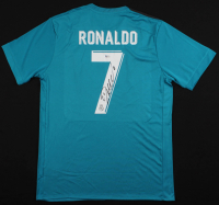 Cristiano Ronaldo Signed Real Madrid Jersey (Beckett COA) at PristineAuction.com
