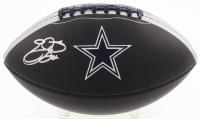 Emmitt Smith Signed Dallas Cowboys Logo Football (Beckett COA & Prova Hologram)