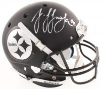 JuJu Smith-Schuster Signed Pittsburgh Steelers Full-Size Custom Matte Black Helmet (TSE Hologram)