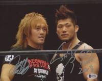 Tetsuya Naito and Sanada Signed New Japan Pro-Wrestling 8x10 Photo (Beckett COA)