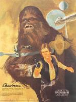 Vintage 1977 Coca-Cola Star Wars 18x24 Poster