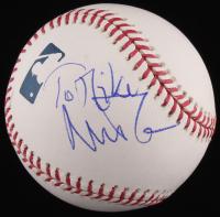 Nick Mason Signed OML Baseball (JSA COA)