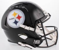 Hines Ward & Antonio Brown Signed Pittsburgh Steelers Full-Size Speed Helmet (JSA COA & Beckett COA)