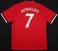 Cristiano Ronaldo Signed Manchester United Jersey (Beckett COA)