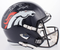 "Demaryius Thomas Signed Denver Broncos Full-Size Speed Helmet Inscribed ""SB50 Champs"" (Beckett COA)"