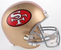 Jerry Rice Signed San Francisco 49ers Throwback Full-Size Helmet (PSA Hologram)
