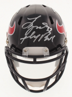 "Tyrann Mathieu Signed Houston Texans Mini Speed Helmet Inscribed ""Honey Badger"" (Beckett COA)"