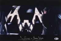 """David Prowse Signed """"Star Wars: The Empire Strikes Back"""" 10x15 Photo Inscribed """"is Darth Vader"""" (Beckett COA)"""