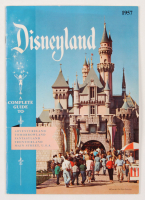 1957 Disneyland Vintage Guide Book