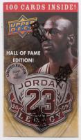 2009-10 Upperdeck Michael Jordan Legacy LE HOF Box with (100) Cards