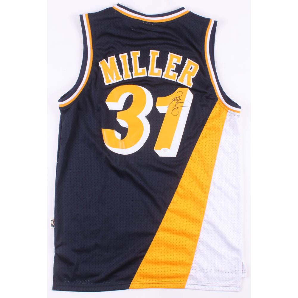 Reggie Miller Signed Indiana Pacers Jersey (JSA COA) | Pristine ...