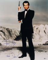 "Pierce Brosnan Signed ""James Bond"" 16x20 Photo Inscribed ""Good Life"" (Beckett COA)"