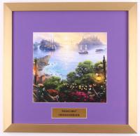 "Thomas Kinkade Walt Disney's ""Pinocchio"" 17.5x18 Custom Framed Print"