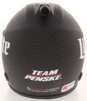 Brad Keselowski Signed NASCAR Miller Lite 1:3 Scale Mini-Helmet (PA COA) at PristineAuction.com