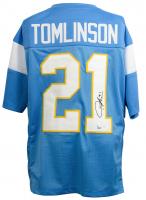 LaDainian Tomlinson Signed San Diego Chargers Jersey (JSA COA & Tomlinson Hologram)