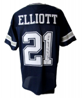 Ezekiel Elliott Signed Dallas Cowboys Jersey (Beckett COA)