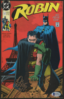 "Bob Kane Signed 1991 ""Robin"" Issue #1 DC Comic Book (Beckett COA) at PristineAuction.com"