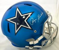 Roger Staubach Signed Dallas Cowboys Full-Size Speed Helmet (JSA COA)