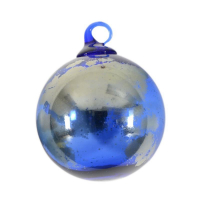 """Glass Eye Studios """"Ornament (Earth)"""" Hand Blown Glass Sculpture at PristineAuction.com"""