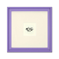 """""""Pepe Le Pew Dancing"""" Limited Edition 9x9 Custom Framed Etching with Hand-Tinted Color"""
